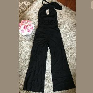 Guess By Marciano Size 2 Halter Jumpsuit Jumper